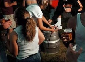 Teen Party Arrest