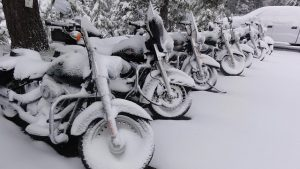 Motorcycle Accidents in the snow