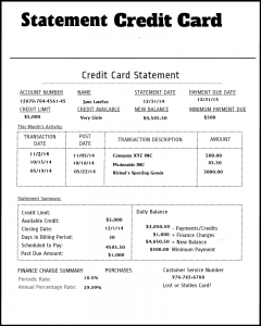 Credit Card Bill Boston Bankruptcy Lawyer